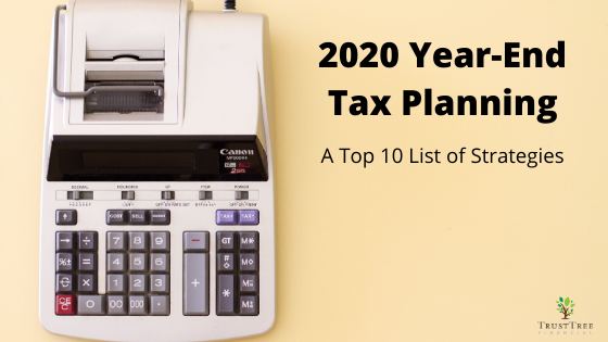 2020 Year-End Tax Planning